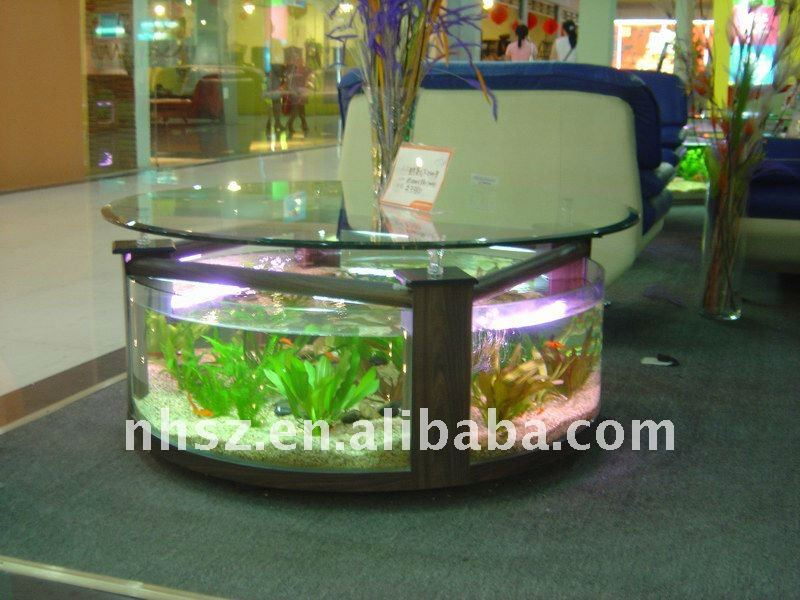 oval table fish tank aquarium buy modern coffee table. Black Bedroom Furniture Sets. Home Design Ideas
