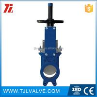 class150/pn10/pn16 wafer type fnw knife gate valve model: 658m size: 12 ce certificate 10 years manufacturer