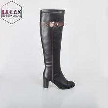 H1581-k477 venta caliente hebilla de cinturón de equitación bota bota de goma