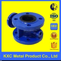 Double flange butterfly valve PN10/PN16 ductile iron valve body