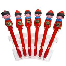 boy Officials in ancient China color polymer clay ballpoint pen