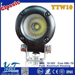 Hot Sale!!!Round 10w led work light Mini LED light Motorcycle lamp led work light 12V/24V