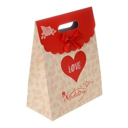 wedding paper gift bag/ good printing paper bag/ popular paper gift bag