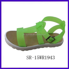 Fashion hot selling summer sandals 2015 beach sandals wedges 2015 ladies sandal shoes