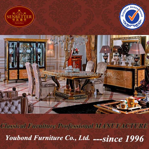 0061 Turkish Luxury Style Dining Room Furniture Antique