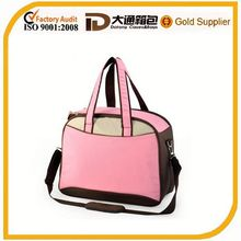 Tote and shoulder water-proof lining Material crib diaper bag
