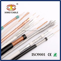 75 ohm coaxial cable high quality RG58 RG59 RG6 RG11 RG213 KX6(ROHS,UL,CE,ISO9001 Approved)