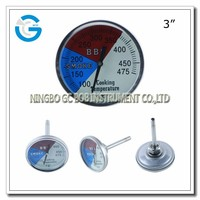 High quality stainless steel bbq steak thermometers