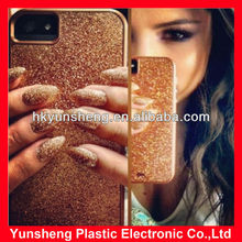 NEW Case Mateing Glam GLITTER for iPhone 5 HARDSHELL Protective Case gold