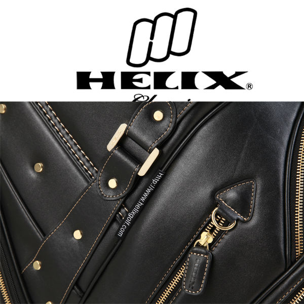 Helix Golf bag,Golf bag with wheels, travel golf bag, golf bag rain cover for free