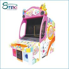 2015 Kids Coin Operated parque de atracciones de tiro juego de Arcade bola STRIKER redención Bingo máquina de juego