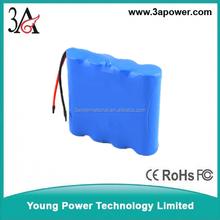 custom lithium Rechargeable Batterie for power tools 2s2p 7.4v 6800mah samsung 18650 li-ion battery packs