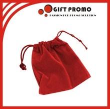 Custom High Quality Velvet Drawstring Pouch Bag