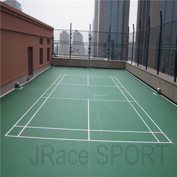 durable outdoor sport flooring material