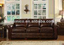 Popular American living room furniture,leisure genuine leather sofa,high quality sofa chair (BF01-20096)