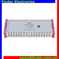 32 output satellite signal cascade diseqc 5*32 multiswitch