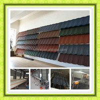 Colored stone coated roofing steel tile making machine
