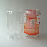 355ml empty clear plastic soda bottles