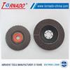 Tornado calcined aluminum oxide 72 sheets deburring flap wheel