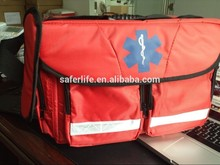 Hot selling first aid kit with low price 2015 Hot Selling First Aid Kit Ambulance Emergency Medical Bag with Reflective stripe