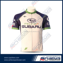 Blank Custom Sublimated Cycling Jersey no minimum