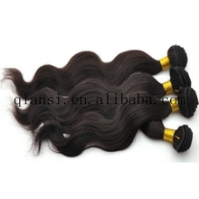 popular body wave brazilian hair weft, hair extension