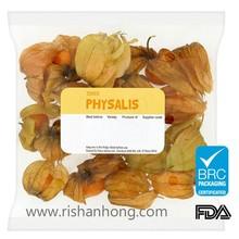 Hang Hole Top Plastic Reusable fruit plastic pouch