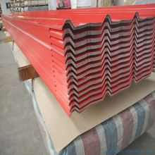 red coated corrugated aluminum roofing sheet 840