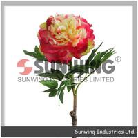 Sunwing artificial handmade roses plastic peony clay miniature flowers