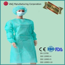 Factory surgical gown disposable gown latex free with CE ISO FDA