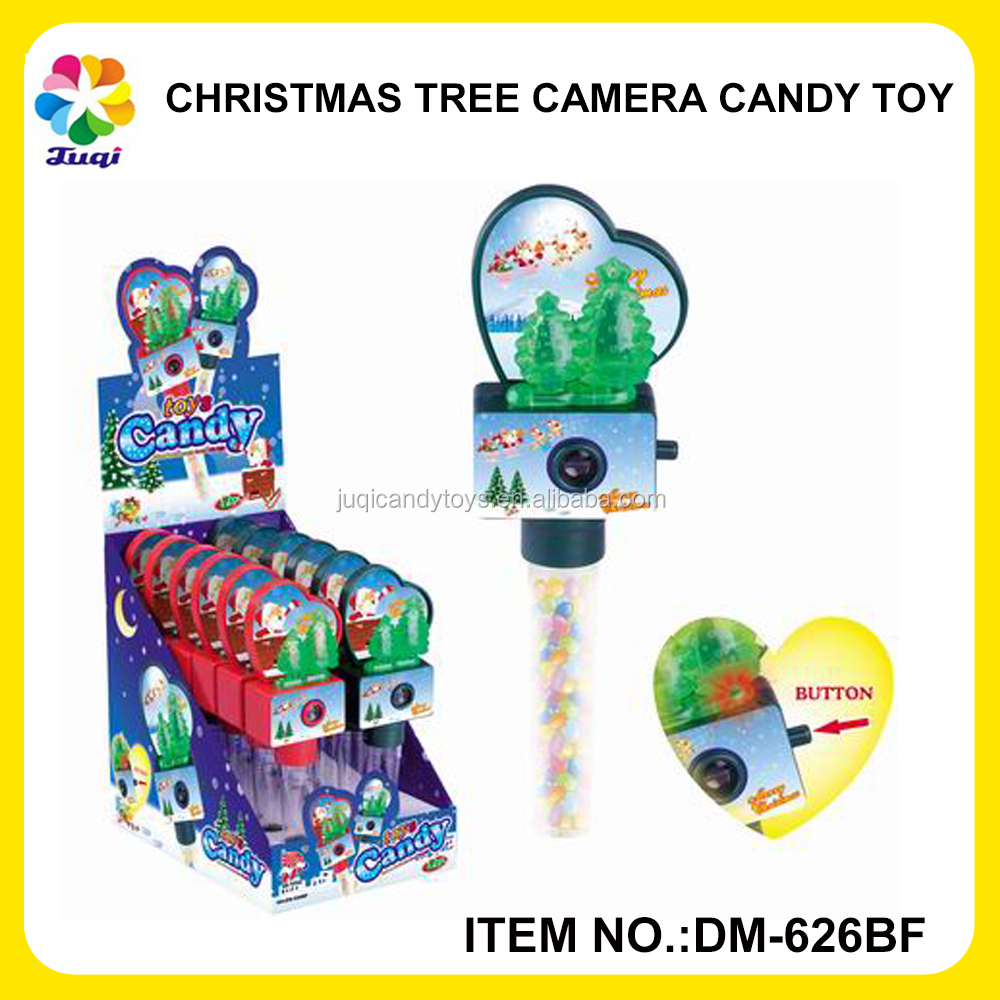 JUQI CHRISTMAS TREE WITH FLASH LIGHT TOY CANDY
