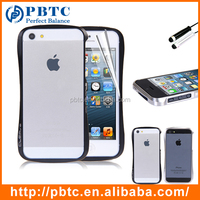 Wholesale Cheap Custom Back Case Cover For Iphone 5 / 5S , Cell Phone Metal Case , Mobile Phone Aluminum Metal Bumper Case