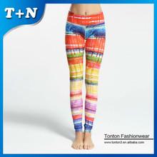 wholesale fold over yoga athletic yoga custom fitness leggings