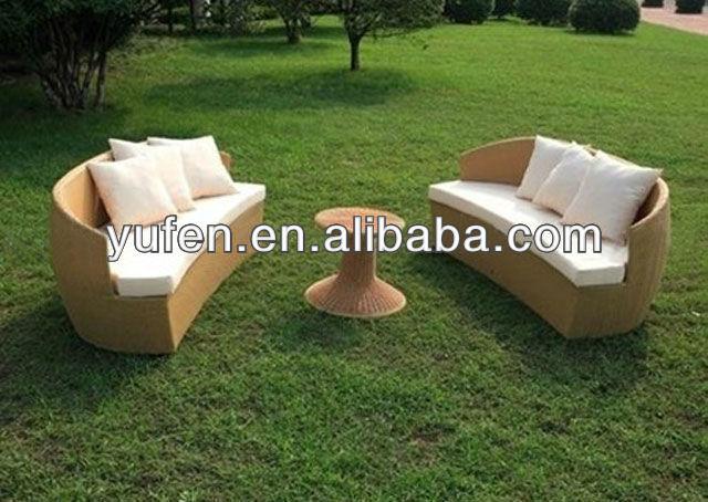 Aluminum Rattan Sofa Outdoor Semi Circle Furniture Buy Rattan Sofa Outdoor Seni Circle