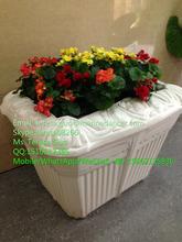 Dekoratif bitki pot, parlak renkli saksı, ucuz plastik saksı