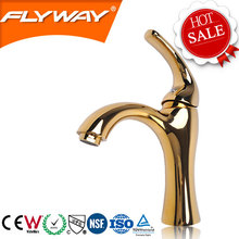 alibaba China 2014 FW-DBB44 Jiangmen Flyway gold bathroom faucet