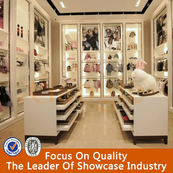 Store Interior Design For Clothes Display 30A