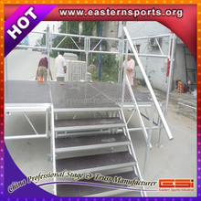 ESI 2015 High Quality Aluminum Stage / Portable Modular Catwalks Folding Stages / Aluminum Outdoor Stage