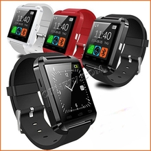 Factory Wholesale Bluetooth Smart Watch cell phoen U8 Watch Wrist Smart watch for iPhone Samsung HTC Android Phone