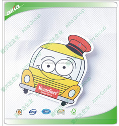 China children clothes hang tag, lovely cartoon hang tags for kids clothing