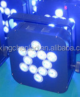 6pcs/7pcs/9pcs/12pcs led slim wireless dmx remote control 4 in1/5 in 1/6 in 1 wedding /stage flat light