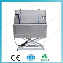 BS0710 Chinese stainless steel dog grooming bathtub of pet bathtub