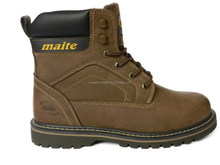 Desert crazy horse leather upper goodyear welted shoes/safety shoes goodyear/