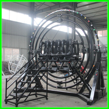 [Wonderful rides!!!]Manufacturer ourdoor amusement rides 6 seats huamn gyroscope for sale/electric gyroscope rides