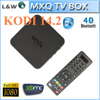 Factory price hot xbmc kodi 14.2 android tv box amlogic mxq s805