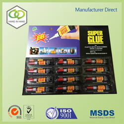 Old brand adhesive super glue with CE certificate