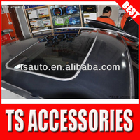 TSAUTOP ROHS certificate 3 layers 1.52*30m air Free bubbles black gloss car roof support