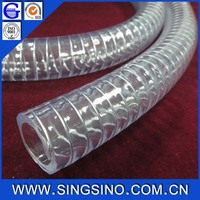 4 Inch Clear Food Grade Pvc Pipe with the REACH Standard and FDA Standard