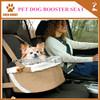 Polar fleece pet auto travel dog booster car seat high quality factorty price