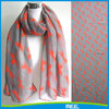 fashion polyester horse print scarf